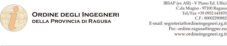 Ordine ingegneri RG